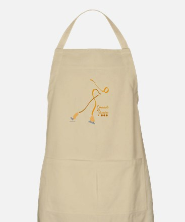 Speed skating BBQ Apron