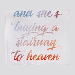 Stairway To Heaven Throw Blanket