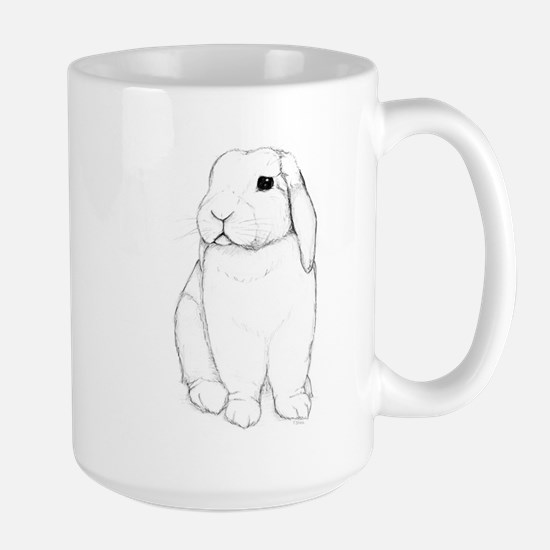 Lop Rabbit Large Mug
