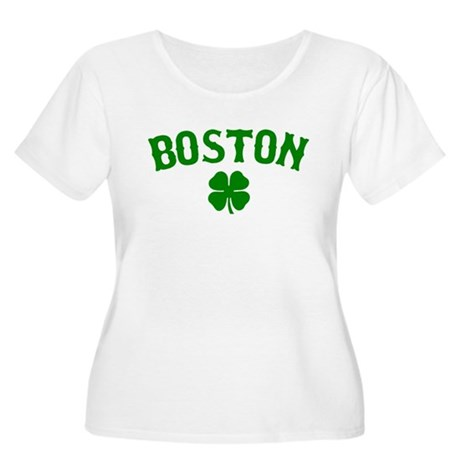 Boston Irish Women's Plus Size Scoop Neck T-Shirt