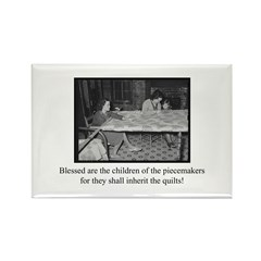 Inherit the Quilts Rectangle Magnet (100 pack)