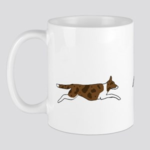 Red Merle BC on Sheep Mug