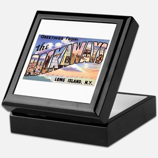 Rockaways Long Island NY Keepsake Box