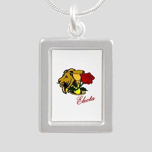Electa Lion Cup Rose Design Necklaces