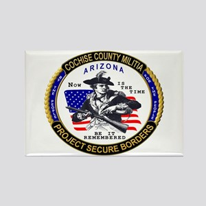 Cochise County Militia Rectangle Magnet