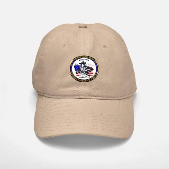 Cochise County Militia Baseball Baseball Cap