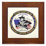 Cochise County Militia Framed Tile