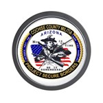Cochise County Militia Wall Clock