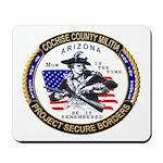 Cochise County Militia Mousepad