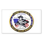 Cochise County Militia Rectangle Sticker