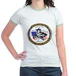 Cochise County Militia Jr. Ringer T-Shirt
