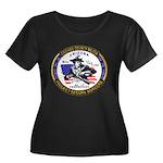 Cochise County Militia Women's Plus Size Scoop Nec