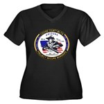 Cochise County Militia Women's Plus Size V-Neck Da