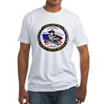 Cochise County Militia Fitted T-Shirt