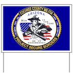 Cochise County Militia Yard Sign