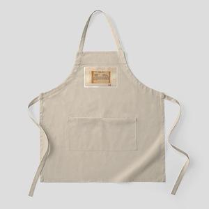 White Bread BBQ Apron