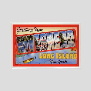 Riverhead Long Island NY Rectangle Magnet