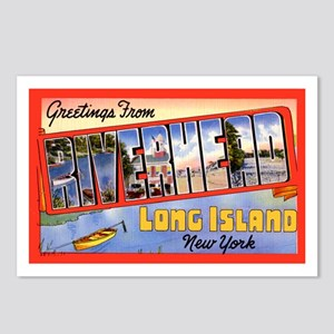 Riverhead Long Island NY Postcards (Package of 8)