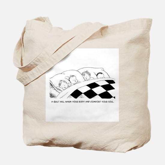 A Warm Quilt Tote Bag