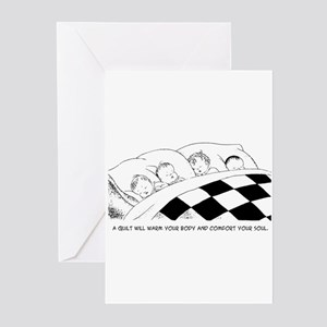 A Warm Quilt Greeting Cards (Pk of 10)