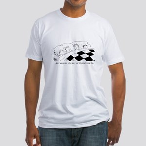 A Warm Quilt Fitted T-Shirt