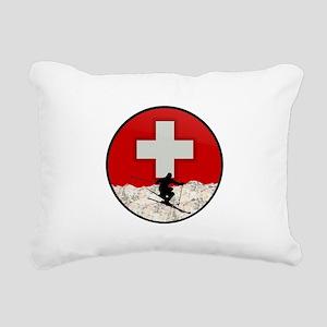 THE RUSH Rectangular Canvas Pillow