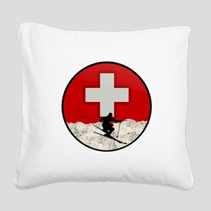 THE RUSH Square Canvas Pillow