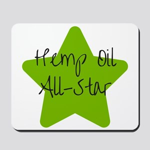 Hemp Oil All Star Mousepad