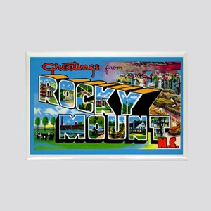 Rocky Mount North Carolina Rectangle Magnet