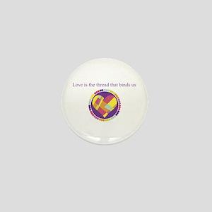 Love - Sew Quilt Heart Mini Button