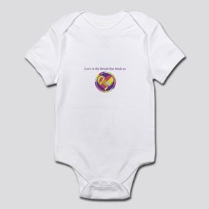 Love - Sew Quilt Heart Infant Bodysuit