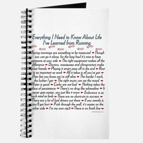 Running's Life Lessons Journal