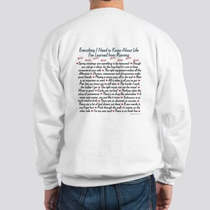 Running's Life Lessons Sweatshirt