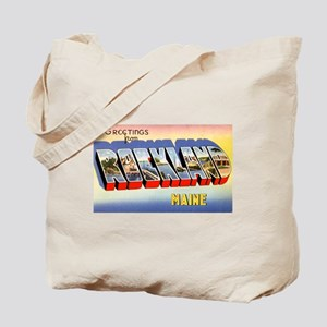 Rockland Maine Greetings Tote Bag