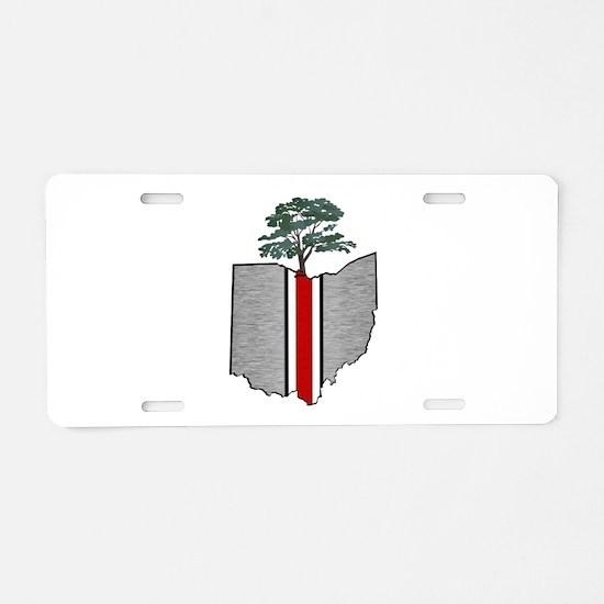OHIO GROWN Aluminum License Plate