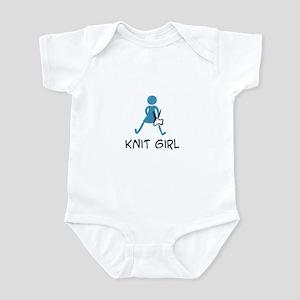Retro Knit Girl Infant Bodysuit