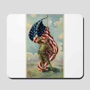 WW2 POSTER LIBERTY Mousepad