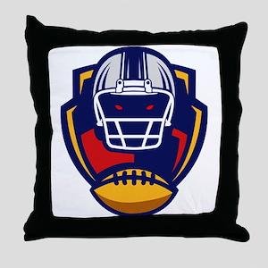 American Football 0004 Throw Pillow