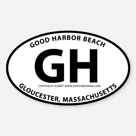 Good Harbor Oval Decal