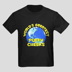World's Greatest Puffy.. (D) Kids Dark T-Shirt