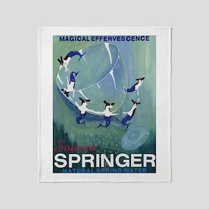 Source Springer Throw Blanket
