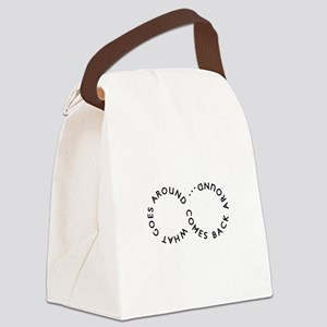 Inspiration Wear - Goes Around Canvas Lunch Bag