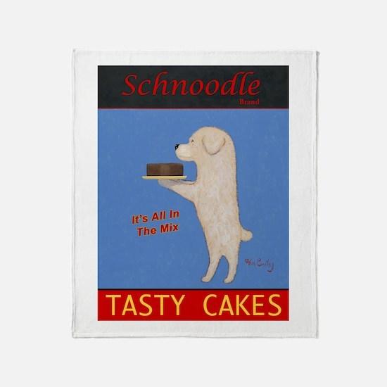 Schnoodle Tasty Cakes Throw Blanket