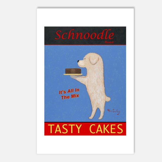 Schnoodle Tasty Cakes Postcards (Package of 8)