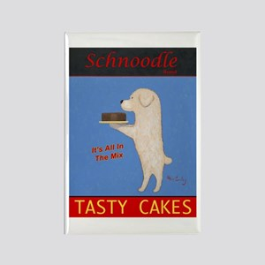 Schnoodle Tasty Cakes Rectangle Magnet