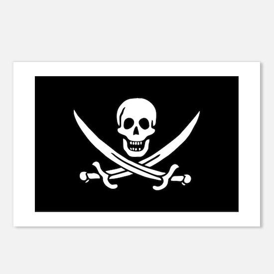 Pirate Calico Jack Rackham Postcards (Pkg of 8)