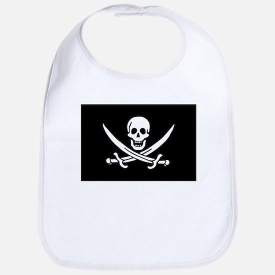 Pirate Baby Calico Jack Rackham Bib