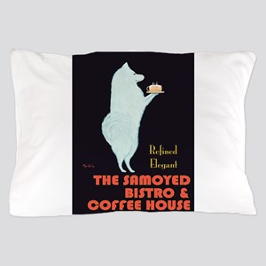 The Samoyed Bistro Pillow Case