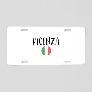Vicenza Aluminum License Plate