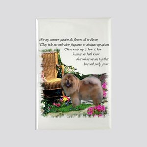 Chow Chow Art Rectangle Magnet (10 pack)